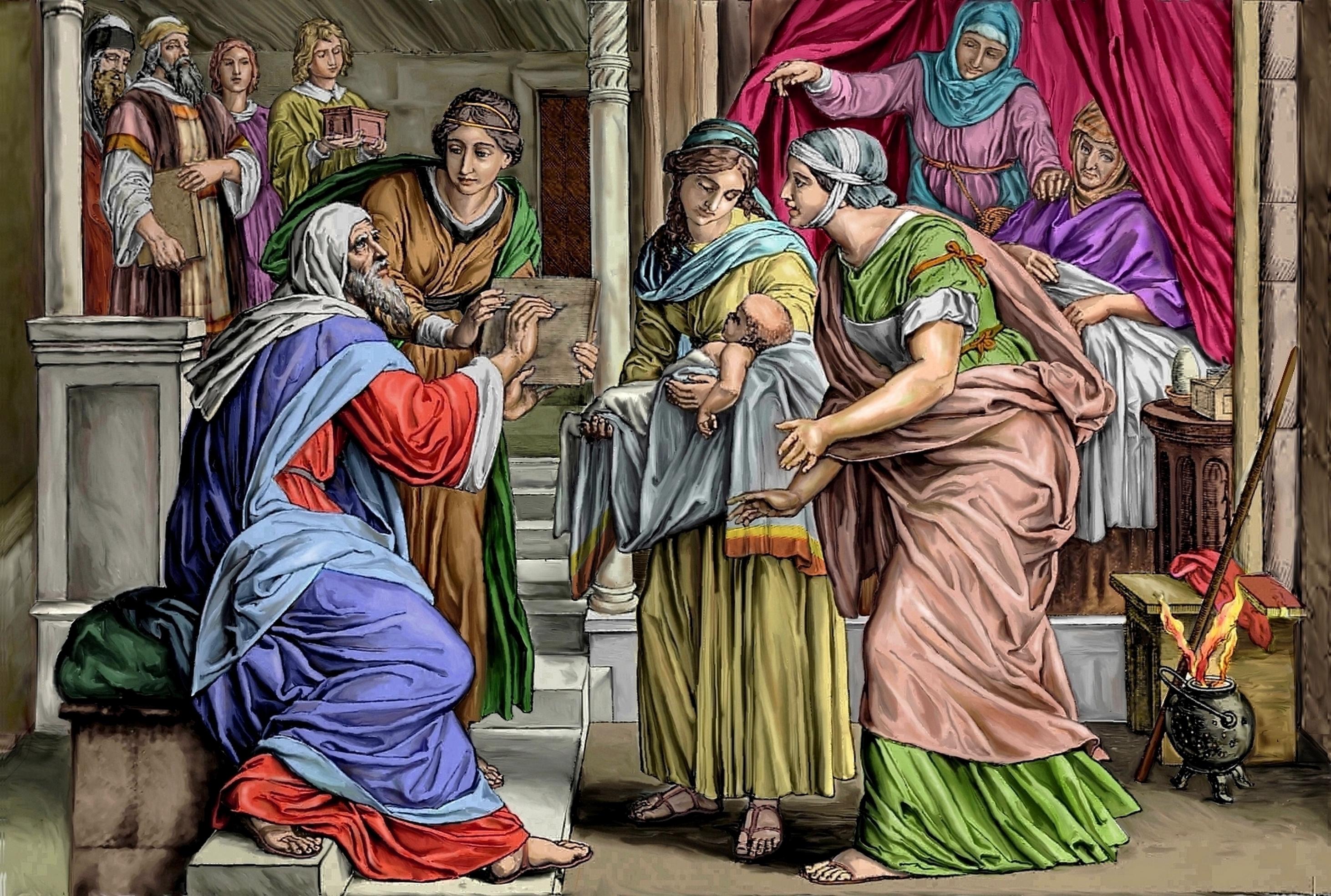 CALENDRIER CATHOLIQUE 2020 (Cantiques, Prières & Images) - Page 18 Naissance-de-st-j...baptiste-57802a9