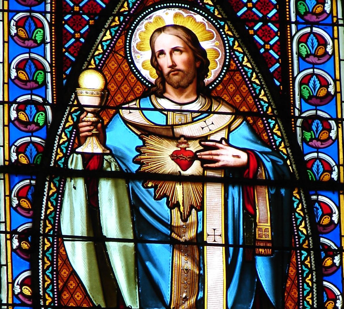 LITANIES du TRÈS SAINT SACREMENT Le-coeur-eucharis...de-j-sus-577817d