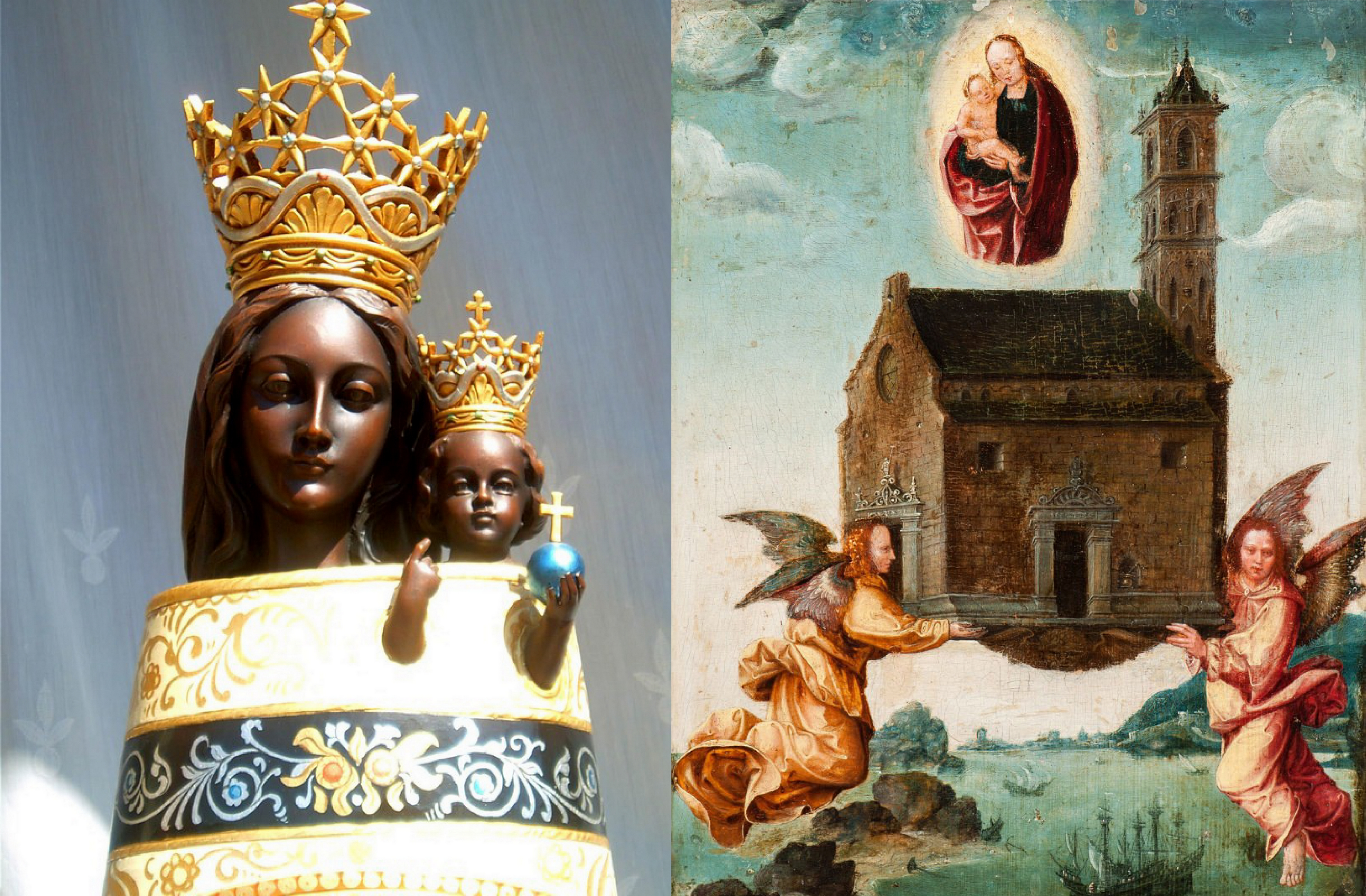 CALENDRIER CATHOLIQUE 2019 (Cantiques, Prières & Images) - Page 17 Notre-dame-de-lor...e-maison-56d8db9
