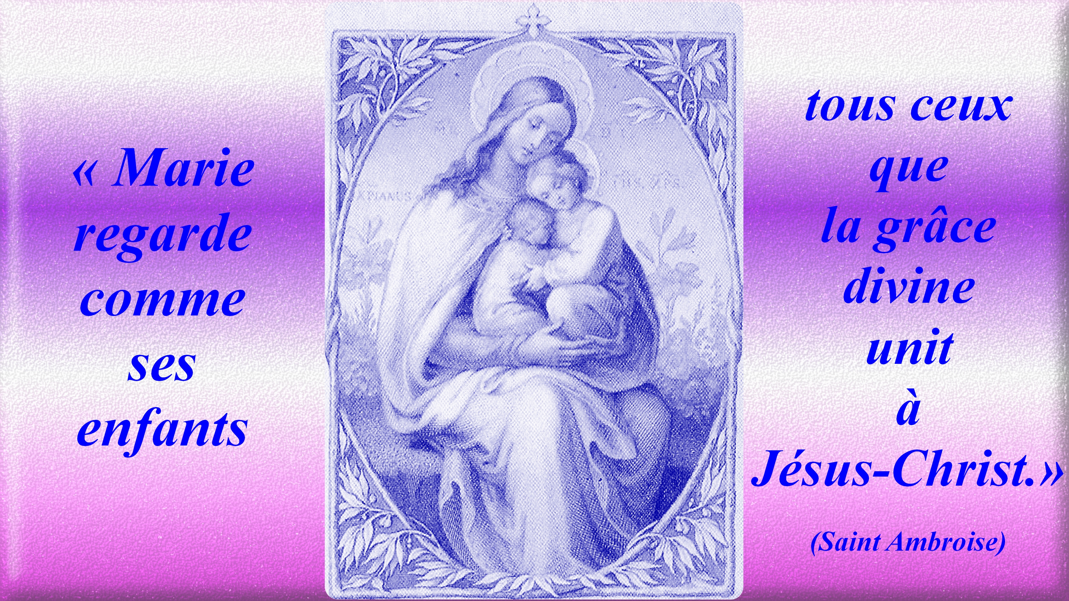 La REINE du CIEL à son ENFANT BIEN-AIMÉE MARIE de la SAINTE FACE  (Céline) Les-vrais-enfants-de-marie-56e3287