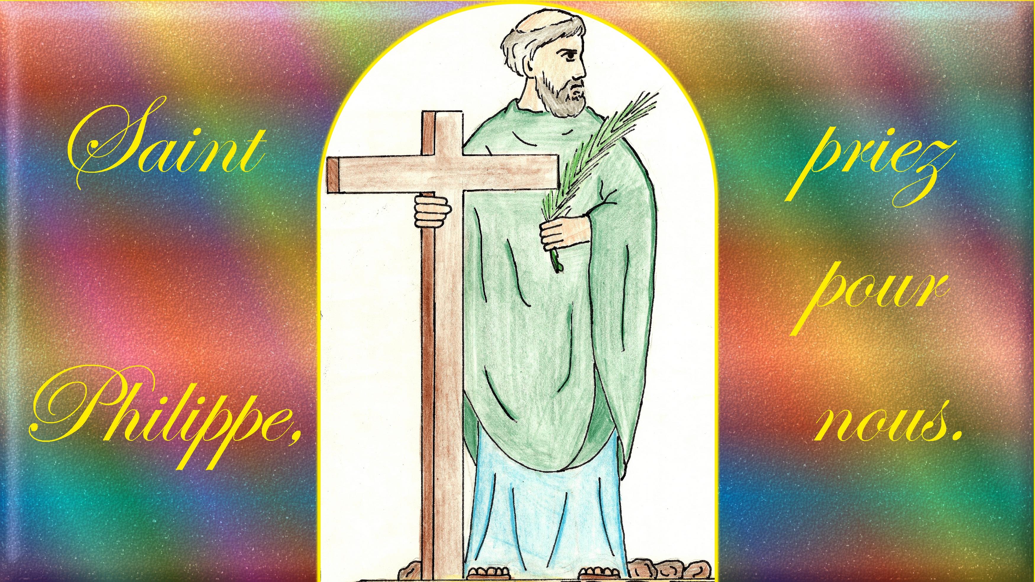 CALENDRIER CATHOLIQUE 2020 (Cantiques, Prières & Images) - Page 14 St-philippe-575d06f