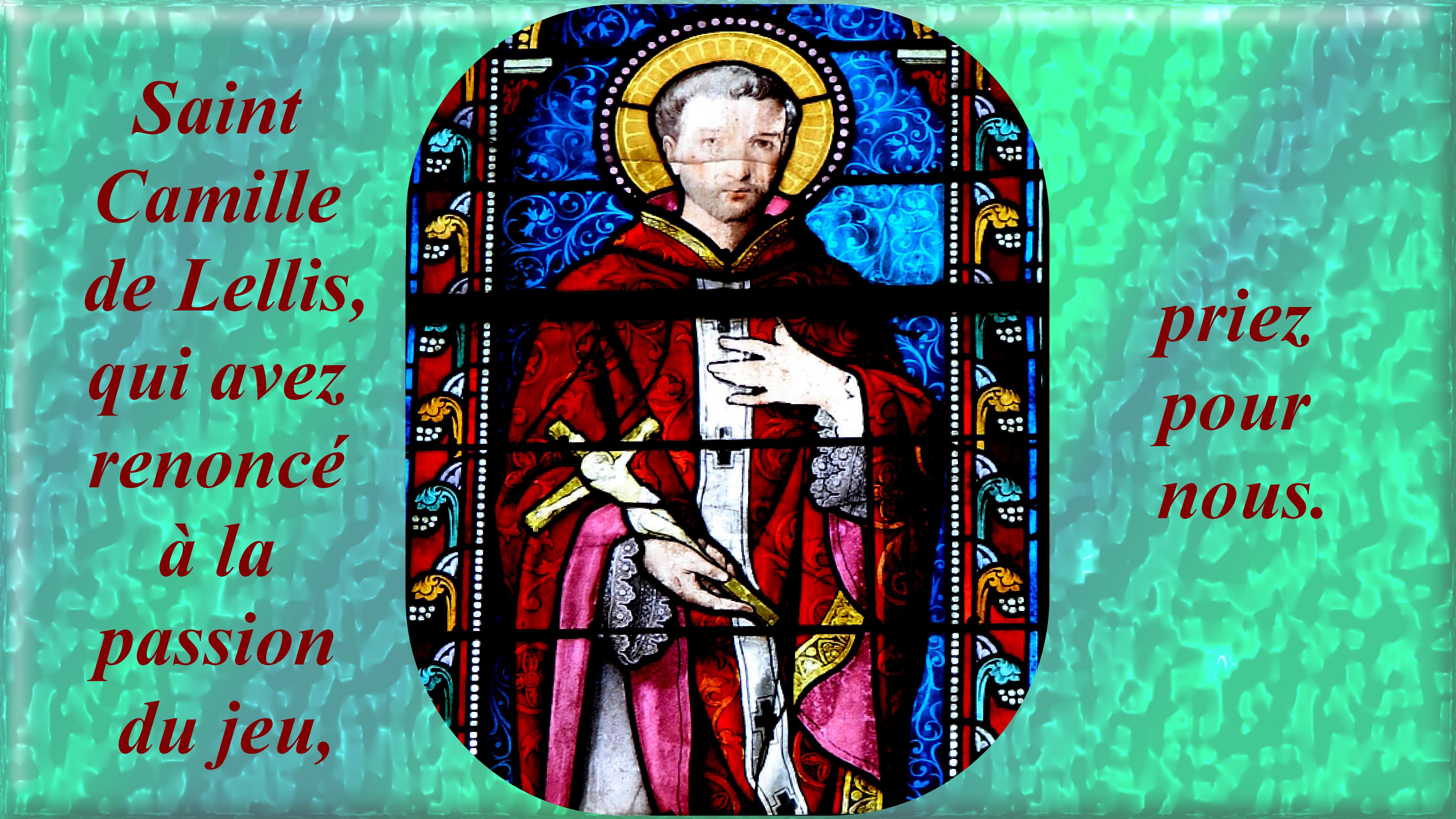 CALENDRIER CATHOLIQUE 2020 (Cantiques, Prières & Images) - Page 20 St-camille-de-lellis-2--579047d